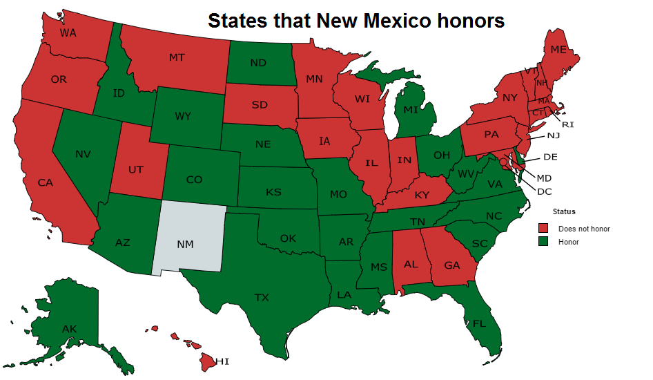 New Mexico Gun Laws - Frontier Carry